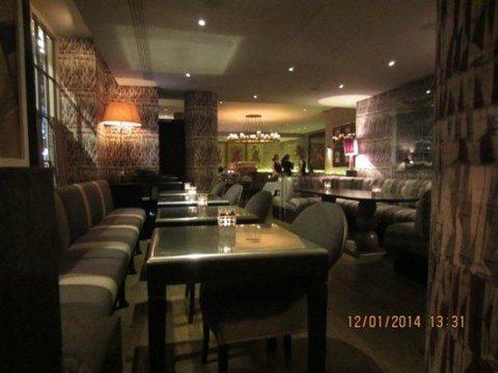 Haymarket Hotel: The bar/restaurant