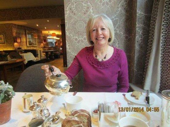 Haymarket Hotel: Breakfast!!
