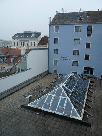 Hotel Viennart am Museumsquartier : Vue depuis la fenêtre de la chambre