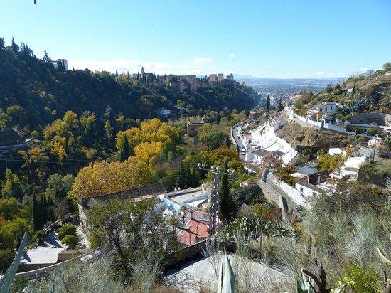 Santa Isabel la Real : Udsigt fra Sacromonte