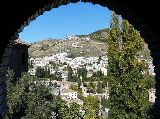 Santa Isabel la Real : Udsigt fra Alhambra