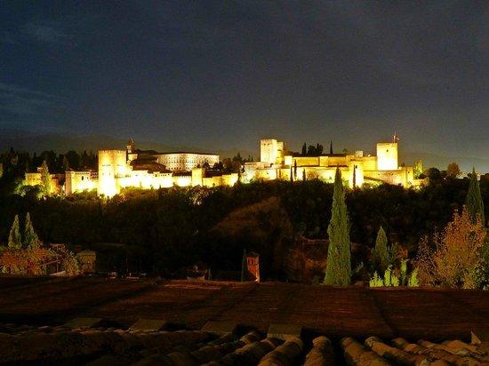 Santa Isabel la Real : Udsigt fra Estrellas de San Nicolás