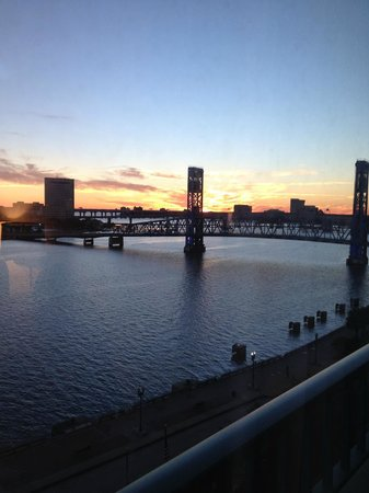 Hyatt Regency Jacksonville Riverfront : View from room 8th floor