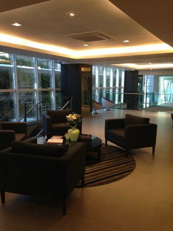 Hotel Laghetto Viverone Moinhos: Lobby at the new building
