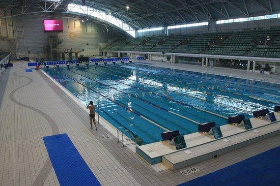 Sydney Olympic Park: aquatic centre..le vasche di allenamento (alcune)