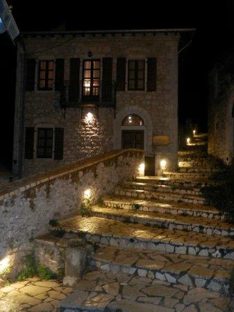 Guesthouse Lousios : Βράδυ