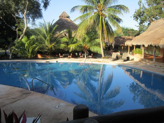 The Lodge at Uxmal: View from Bungalow 1