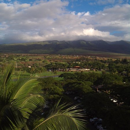 Westin Maui Resort And Spa: Our mountain room view