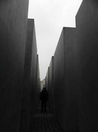 Mémorial aux Juifs assassinés d'Europe : Monumento Holocausto, Febrero 2013.