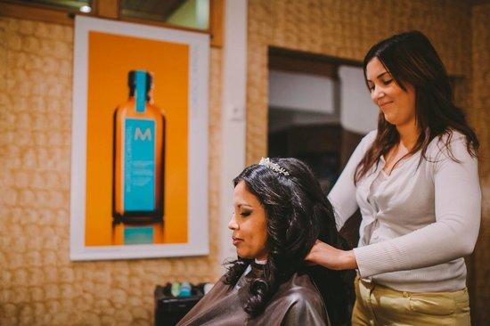 Levi Hotel Spa : Salon de belleza el día de mi boda