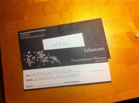 Levi Hotel Spa: Regalo para disfrutar del Spa
