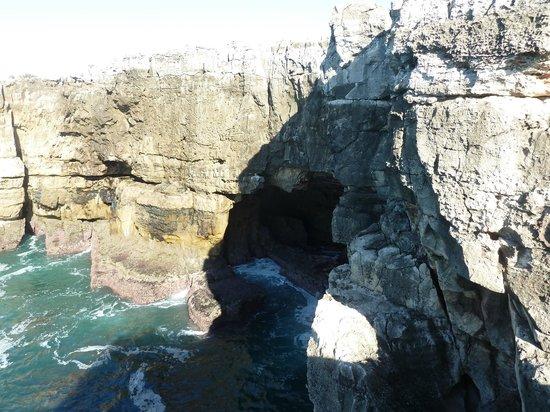Boca do Inferno: Пещера вид с точки 2