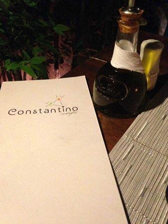 Constantino Cafe: Menu