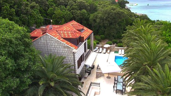 Villa Franica - view from the air