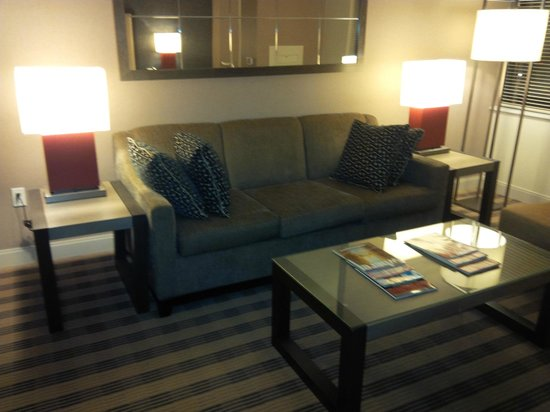 Avenue Suites Georgetown: SOFA IN ROOM