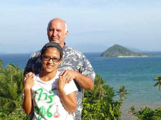 Thaidaho Vista Resort: Kat und Allen. Sie betreiben das kleine Hotel mit viel Hingabe
