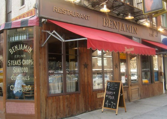 Benjamin Restaurant Amp Bar New York City Menu Prices