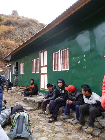 Himalayan Social Journey - Day Tours : Arrived by helicopter
