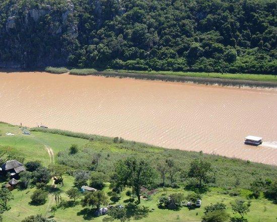 umThombe Kei River Lodge: River campsite