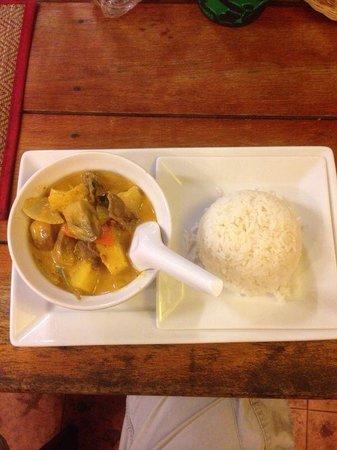 Red Duck Restaurant: Cena magnifica ! Vera cucina thai !