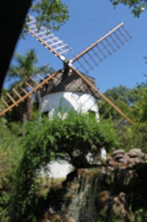 Parque Moinhos de Vento (Parcão): Wind mill at Parcao, in the city of Porto Alegre