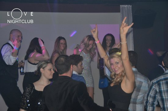 Party On The Dance Floor At Love