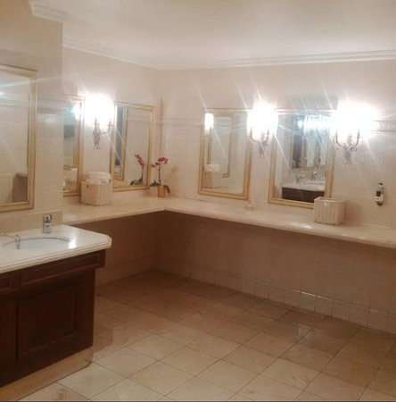 Hendon Hall Hotel: Downstairs bathroom