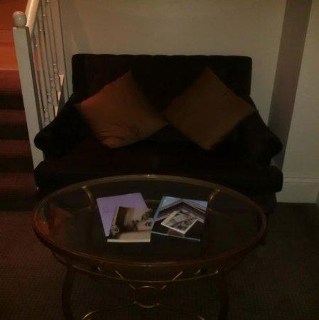 Hendon Hall Hotel: Sofa