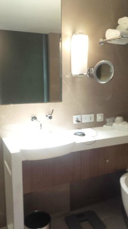 Crowne Plaza Chennai Adyar Park: the bathroom