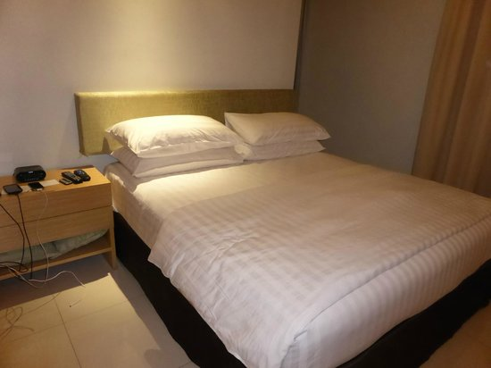 PARKROYAL Serviced Suites Kuala Lumpur: Comfy bed