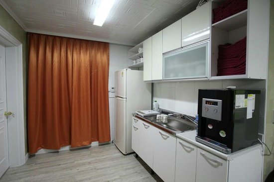 Pumpkin Guesthouse: kitchen
