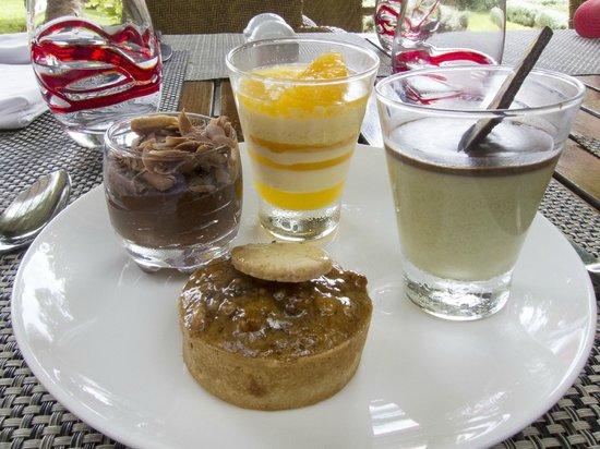 Sofitel Marrakech Palais Imperial : desserts of Sofitel Marrakech