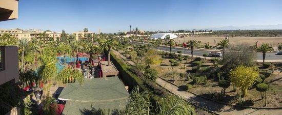 Sofitel Marrakech Palais Imperial : Suite view Sofitel Marrakech