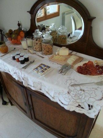 Montjuic Bed & Breakfast : ontbijt