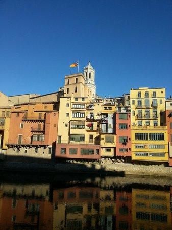 Montjuic Bed & Breakfast : de oude stad