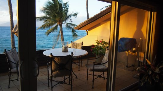 Makena Surf : Private lanai