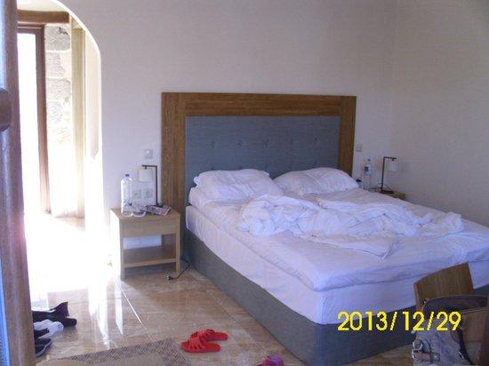Limeni Village Hotel: Διπλό κρεββάτι