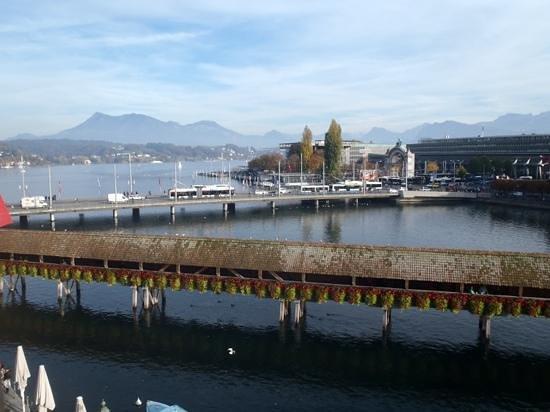 Lake Luzern : View from hotel window