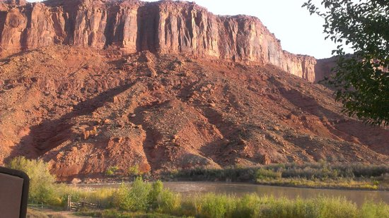 Red Cliffs Lodge: Red Cliffs, vues depuis la chambre