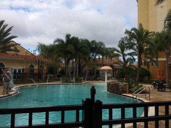 Homewood Suites by Hilton Lake Buena Vista-Orlando : La pileta climatizada