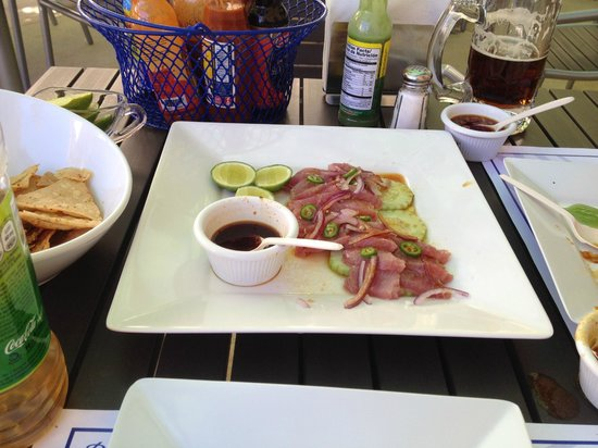 Blue Fish Cabo Seafood : Tuna Sashimi