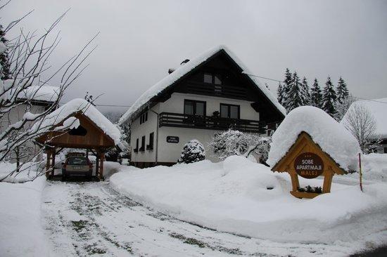 Apartments Malej Marjan: Winter