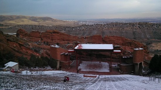 Red Rocks Park and Amphitheatre : Red Rocks Ampitheater