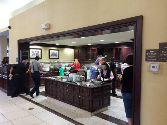 Homewood Suites by Hilton Lake Buena Vista-Orlando : Lugar donde se toman las cosas