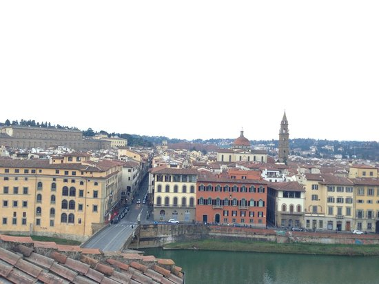 Antica Torre di Via Tornabuoni : 頂樓的風景