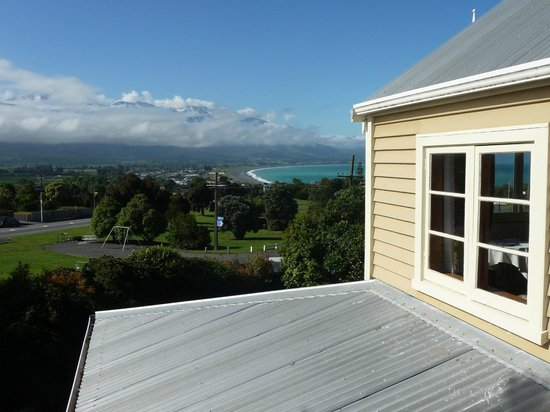 View from Nikau Lodge 1st Floor