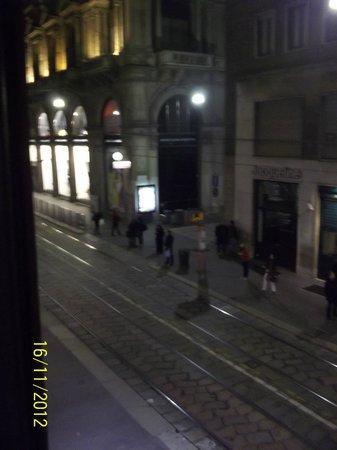 Hotel Rio: остновка трамваев под окном
