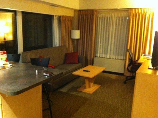 Comfort Suites Michigan Avenue / Loop : Living area
