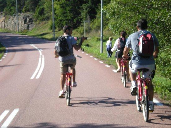 Hotel Adlon: Bike tour