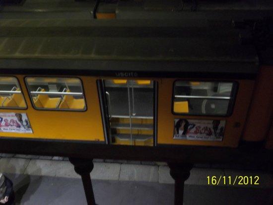 Hotel Rio: трамвай под окном